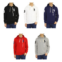 Polo Ralph Lauren Long Sleeve Big Pony Hooded Polo Parka Shirt -- 5 colors --