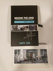 Behind The Lens: World of Suits Photography PATRICK J. ADAMS signed AUTOGRAPHED