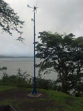 25' - 50' Free Standing Tilt Crank Up Tower plans For Wind Turbine Radio Antenna