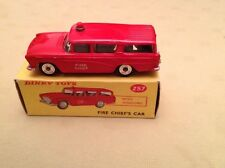 DINKY 257 CANADIAN FIRE CHIEF NASH RAMBLER BOX RARE ALL ORIGINAL VINTAGE DIECAST