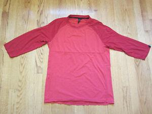 Specialized Enduro Bike Jersey Red Merino Wool $80 Medium Mens MD Drirelease M