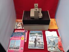 Sawyer's View-Master & Box  Disneyland, Worlds Fair, Lassie, Marineland and more