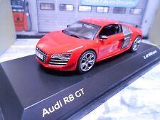 AUDI r8 GT v10 super voiture de sport rouge redkyosho I scale 1:43