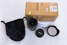 Nikon AF-S 16-35mm f4 G ED VR Lens. As good as new, unused insurance replacement