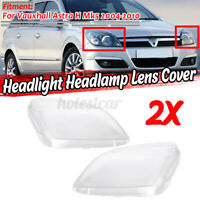 Headlight Headlamp Lens Cover For Astra H MK5 Vauxhall 04-10 93178638