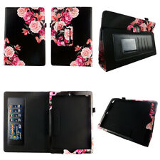 FOR APPLE IPAD PRO 9.7 INCH 2017 TABLET FOLIO CASE COVER STAND BK FLOWER 5TH GEN