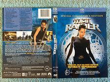 TOMB RAIDER + CRADLE OF LIFE - Angelina Jolie - DVD, R4, Free Postage