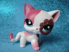 100% ORIGINAL Littlest Pet Shop  Short Hair Cat  # 2291 Shipping with Polish