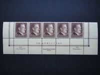 Germany Nazi 1942 Stamps MNH Adolf Hitler 53rd birthday Swastika WWII Third Reic