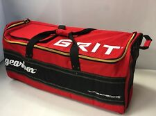 """New Grit GX2 Gearbox senior ice hockey carry bag 38"""" Red equipment heavy duty"""