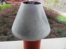 Yankee Candle Halloween  Flicker Spider Web  Jar Shade NEW