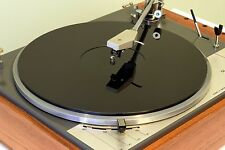 All Gloss Black Audiophile Thick Acrylic Turntable Platter Mat. fits LENCO!