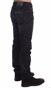 COSTUME NATIONAL C'N'C Gray Slim Fit Cotton Denim Pants Jeans s. W34 RRP $340