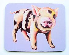 Tapis de souris avec un original cochon design par l'artiste maria moss
