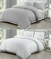 Mayfair Duvet Cover 400 Thread Count Egyptian Cotton Bedding Sets Quilt Covers