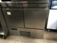 Williams Aztra H10CT Under Counter Fridge Stainless Steel - 2 door