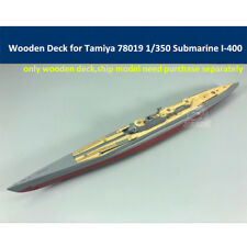 Wooden Deck for Tamiya 78019 1/350 Japanese Submarine I-400 Model 潜水艦 伊-400 木製甲板