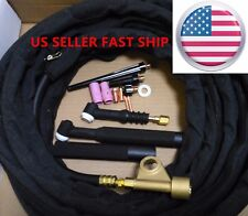 US SELLER WP-9F 25ft 125 Amp Air-Cooled Flex head TIG Complete Welding Torch