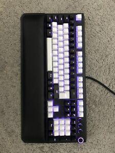 Razer Huntsman Elite Wired Gaming Keyboard w/ Full Sets of Black & White Keycaps