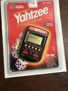 MB Electronic Yahtzee Handheld Game - NEW/ SEALED, Free Shipping, Good Condition