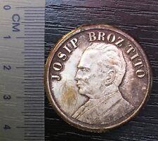 table medal Marshal Josip Broz Tito SFRY Yugoslavia Serbia