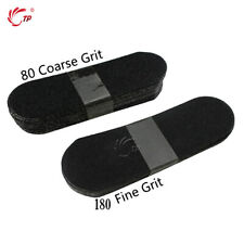 TP Foot Files Grit #80 20pcs + #180 Handle Metal Stainless Care Feet Pedicure