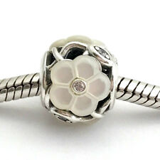 Authentic Pandora Luminous Florals Mother-of-Pearl Charm 791894MOP New Retired