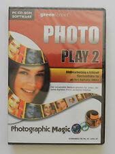 PC CD-ROM Photo Play 2 Bildbearbeitung Neu originalverpackt