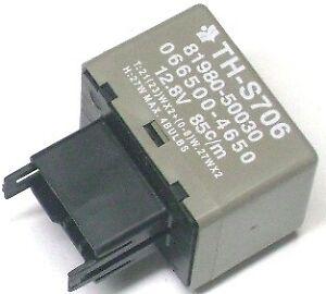 8 Pin Flasher Relay MODULE Signal Light Hazard For Lexus Toyota 81980-50030 USA