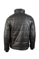 New Men's Leather motorcycle Bomber Military Fashion jacket with Fake Fur Hoodie