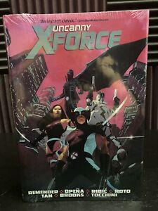 Uncanny X-Force Omnibus Rick Remender NEW & SEALED Hardcover Deadpool Marvel HC