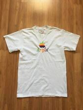 Vintage 90s Apple Computers Macintosh Spellout Stitched T shirt Size Large