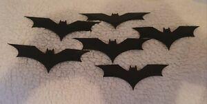3D Printed Batman Begins  Bevel Batarang Set x6