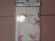 Baby Travel Changing Mat Folding Portable Diaper Wipe Clean Waterproof Unicorn