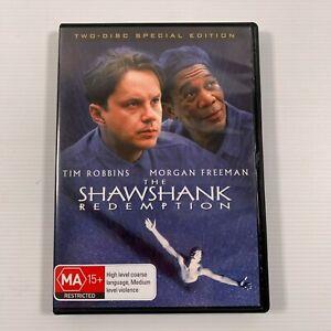 The Shawshank Redemption (DVD 2003 2 disc) Morgan Freeman Tim Robbins Region 4