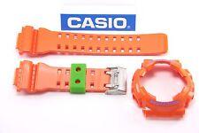 CASIO GA-110A-4 G-Shock Original Hyper Colors Orange BAND & BEZEL Combo GA-110
