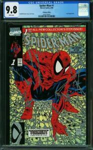 Spider-Man 1  CGC 9.8  Platinum Edition