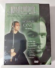 Highlander Series - Season One 9 Disc Box Set  NEW SEALED - mmoetwil@hotmail.com