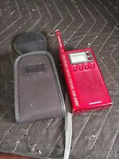 Grundig RED Mini 300 World Band Receiver AM/FM Stereo SW Clock Receiver