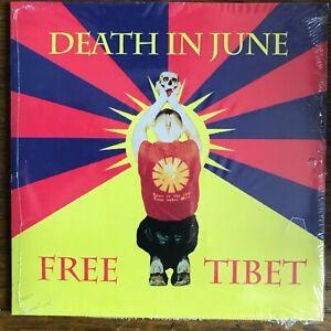 "DEATH IN JUNE ""Free Tibet"" CD Album - sealed - current 93 nww"