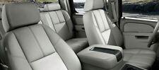 2010 - 2013 GMC Sierra Crew Cab Leather Interior Seat Cover - Grey