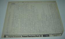 Microfich Ersatzteilkatalog VW Passat Typ 32B 32 B B2 B 2 Santana Stand 04/1982!