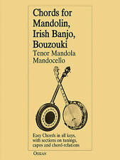 Chords For Mandolin Irish Banjo Bouzouki Tenor Mandola Mandocello Music Book