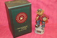 """Boyds Bears The Bearstone Collection """"Coach Grizberg... Leading The Way"""" NIB"""