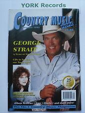 COUNTRY MUSIC PEOPLE MAGAZINE - December 1995 - George Strait / Alison Krauss
