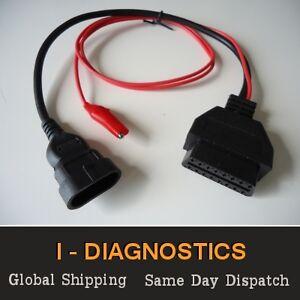 3-Pin Diagnostic Plug Engine Airbag Alfa Fiat Punto 145 146 155 MULTIECUSCAN