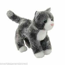 SCATTER Douglas Cuddle Toy plush GREY CAT stuffed animal small gray kitty kitten