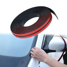 2M Black Car Windshield Roof Sealing Strip Noise Insulation Stickers Accessories