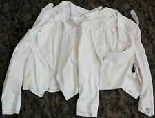 Vintage Obsolete USMC Marine Corps Officer White Evening Mess Dress Jacket Lot
