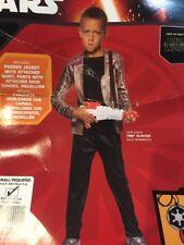 New Star Wars Finn Child's Halloween Costume Size 4-6 Disney